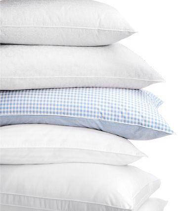 como elegir una buena almohada